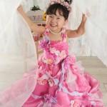 大阪の七五三写真撮影スタジオ・ハニーアンドクランチの3歳女の子洋装(ドレス・きぐるみ)のフォトギャラリーD037