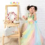 大阪の七五三写真撮影スタジオ・ハニーアンドクランチの3歳女の子洋装(ドレス・きぐるみ)のフォトギャラリーD042