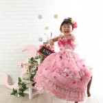 大阪の七五三写真撮影スタジオ・ハニーアンドクランチの3歳女の子洋装(ドレス・きぐるみ)のフォトギャラリーD055
