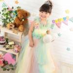 大阪の七五三写真撮影スタジオ・ハニーアンドクランチの3歳女の子洋装(ドレス・きぐるみ)のフォトギャラリーD060