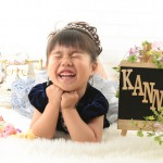大阪の七五三写真撮影スタジオ・ハニーアンドクランチの3歳女の子洋装(ドレス・きぐるみ)のフォトギャラリーD079
