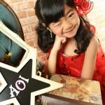 大阪の七五三写真撮影スタジオ・ハニーアンドクランチの3歳女の子洋装(ドレス・きぐるみ)のフォトギャラリーD093