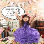 大阪の七五三写真撮影スタジオ・ハニーアンドクランチの3歳女の子洋装(ドレス・きぐるみ)のフォトギャラリーD094