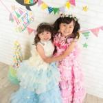 大阪の七五三写真撮影スタジオ・ハニーアンドクランチの3歳女の子洋装(ドレス・きぐるみ)のフォトギャラリーD097