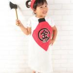 大阪の七五三写真撮影スタジオ・ハニーアンドクランチの3歳女の子洋装(ドレス・きぐるみ)のフォトギャラリーD118