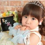 大阪の七五三写真撮影スタジオ・ハニーアンドクランチの3歳女の子洋装(ドレス・きぐるみ)のフォトギャラリーD119
