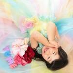 大阪の七五三写真撮影スタジオ・ハニーアンドクランチの3歳女の子洋装(ドレス・きぐるみ)のフォトギャラリーD121