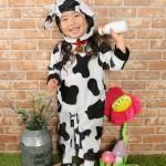 大阪の七五三写真撮影スタジオ・ハニーアンドクランチの3歳女の子洋装(ドレス・きぐるみ)のフォトギャラリーD123