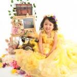 大阪の七五三写真撮影スタジオ・ハニーアンドクランチの3歳女の子洋装(ドレス・きぐるみ)のフォトギャラリーD134
