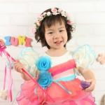大阪の七五三写真撮影スタジオ・ハニーアンドクランチの3歳女の子洋装(ドレス・きぐるみ)のフォトギャラリーD142