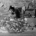 大阪の七五三写真撮影スタジオ・ハニーアンドクランチの3歳女の子洋装(ドレス・きぐるみ)のフォトギャラリーD156