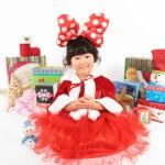 大阪の七五三写真撮影スタジオ・ハニーアンドクランチの3歳女の子洋装(ドレス・きぐるみ)のフォトギャラリーD183