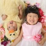 大阪の七五三写真撮影スタジオ・ハニーアンドクランチの3歳女の子洋装(ドレス・きぐるみ)のフォトギャラリーD246