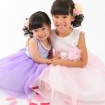 大阪の七五三写真撮影スタジオ・ハニーアンドクランチの3歳女の子洋装(ドレス・きぐるみ)のフォトギャラリーD247