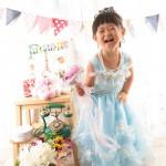 大阪の七五三写真撮影スタジオ・ハニーアンドクランチの3歳女の子洋装(ドレス・きぐるみ)のフォトギャラリーD249