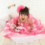 大阪の七五三写真撮影スタジオ・ハニーアンドクランチの3歳女の子洋装(ドレス・きぐるみ)のフォトギャラリーD252