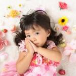 大阪の七五三写真撮影スタジオ・ハニーアンドクランチの3歳女の子洋装(ドレス・きぐるみ)のフォトギャラリーD253