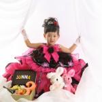 大阪の七五三写真撮影スタジオ・ハニーアンドクランチの3歳女の子洋装(ドレス・きぐるみ)のフォトギャラリーD254