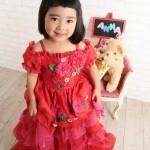 大阪の七五三写真撮影スタジオ・ハニーアンドクランチの3歳女の子洋装(ドレス・きぐるみ)のフォトギャラリーD263