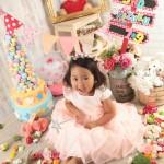 大阪の七五三写真撮影スタジオ・ハニーアンドクランチの3歳女の子洋装(ドレス・きぐるみ)のフォトギャラリーD273