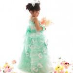 大阪の七五三写真撮影スタジオ・ハニーアンドクランチの3歳女の子洋装(ドレス・きぐるみ)のフォトギャラリーD276