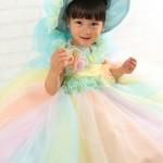 大阪の七五三写真撮影スタジオ・ハニーアンドクランチの3歳女の子洋装(ドレス・きぐるみ)のフォトギャラリーD277