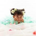 大阪の七五三写真撮影スタジオ・ハニーアンドクランチの3歳女の子洋装(ドレス・きぐるみ)のフォトギャラリーD278