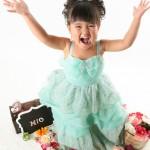 大阪の七五三写真撮影スタジオ・ハニーアンドクランチの3歳女の子洋装(ドレス・きぐるみ)のフォトギャラリーD281
