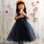 大阪の七五三写真撮影スタジオ・ハニーアンドクランチの3歳女の子洋装(ドレス・きぐるみ)のフォトギャラリーD282