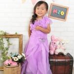 大阪の七五三写真撮影スタジオ・ハニーアンドクランチの3歳女の子洋装(ドレス・きぐるみ)のフォトギャラリーD283