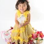 大阪の七五三写真撮影スタジオ・ハニーアンドクランチの3歳女の子洋装(ドレス・きぐるみ)のフォトギャラリーD284