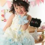 大阪の七五三写真撮影スタジオ・ハニーアンドクランチの3歳女の子洋装(ドレス・きぐるみ)のフォトギャラリーD289