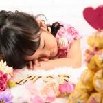 大阪の七五三写真撮影スタジオ・ハニーアンドクランチの3歳女の子洋装(ドレス・きぐるみ)のフォトギャラリーD291