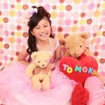 大阪の七五三写真撮影スタジオ・ハニーアンドクランチの7歳女の子ドレス・洋装のフォトギャラリーE001