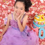 大阪の七五三写真撮影スタジオ・ハニーアンドクランチの7歳女の子ドレス・洋装のフォトギャラリーE004