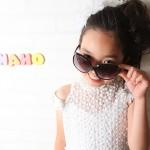 大阪の七五三写真撮影スタジオ・ハニーアンドクランチの7歳女の子ドレス・洋装のフォトギャラリーE005