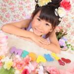 大阪の七五三写真撮影スタジオ・ハニーアンドクランチの7歳女の子ドレス・洋装のフォトギャラリーE007
