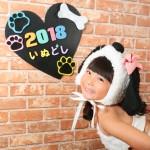 大阪の七五三写真撮影スタジオ・ハニーアンドクランチの7歳女の子ドレス・洋装のフォトギャラリーE008
