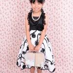 大阪の七五三写真撮影スタジオ・ハニーアンドクランチの7歳女の子ドレス・洋装のフォトギャラリーE009