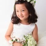 大阪の七五三写真撮影スタジオ・ハニーアンドクランチの7歳女の子ドレス・洋装のフォトギャラリーE015