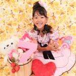 大阪の七五三写真撮影スタジオ・ハニーアンドクランチの7歳女の子ドレス・洋装のフォトギャラリーE023
