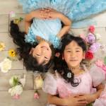 大阪の七五三写真撮影スタジオ・ハニーアンドクランチの7歳女の子ドレス・洋装のフォトギャラリーE025