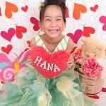 大阪の七五三写真撮影スタジオ・ハニーアンドクランチの7歳女の子ドレス・洋装のフォトギャラリーE027