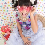 大阪の七五三写真撮影スタジオ・ハニーアンドクランチの7歳女の子ドレス・洋装のフォトギャラリーE034