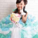 大阪の七五三写真撮影スタジオ・ハニーアンドクランチの7歳女の子ドレス・洋装のフォトギャラリーE035