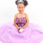 大阪の七五三写真撮影スタジオ・ハニーアンドクランチの7歳女の子ドレス・洋装のフォトギャラリーE042