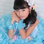 大阪の七五三写真撮影スタジオ・ハニーアンドクランチの7歳女の子ドレス・洋装のフォトギャラリーE043