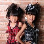 大阪の七五三写真撮影スタジオ・ハニーアンドクランチの7歳女の子ドレス・洋装のフォトギャラリーE050