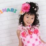 大阪の七五三写真撮影スタジオ・ハニーアンドクランチの7歳女の子ドレス・洋装のフォトギャラリーE059