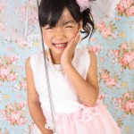大阪の七五三写真撮影スタジオ・ハニーアンドクランチの7歳女の子ドレス・洋装のフォトギャラリーE063